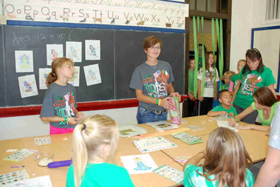 Kids Irish Arts Crafts